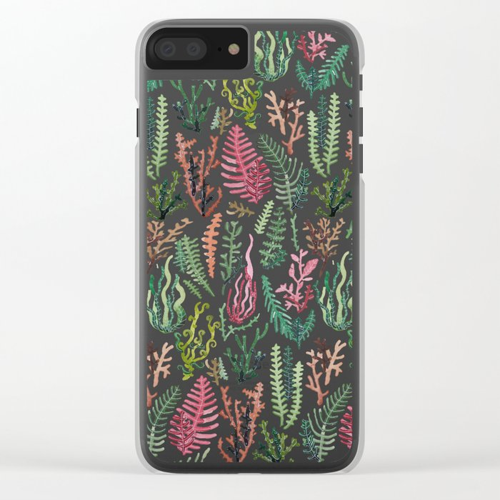 water nature Clear iPhone Case