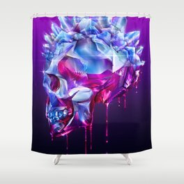 Diamond Mohawk I Shower Curtain