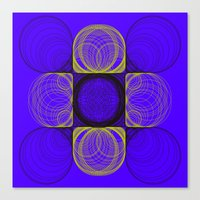 lee pace Canvas Prints featuring spirals pace by Gaspart