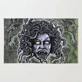 Medusa Gorgon Rug
