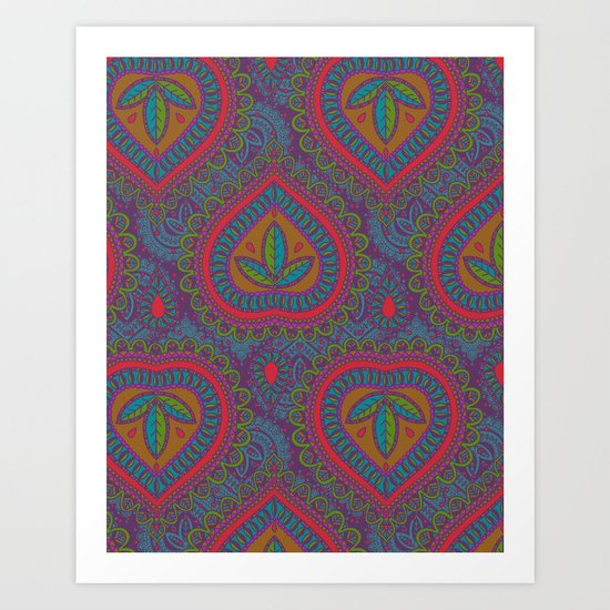 Decorative Art Print