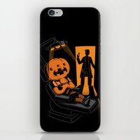 dentist iPhone & iPod Skins featuring Are You Afraid of the Dentist? by Marco Angeles