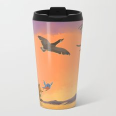 Fox and Boots - Migration Metal Travel Mug