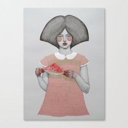 Zora Canvas Print