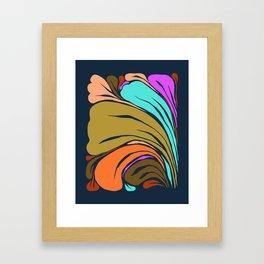 Among growing things  Framed Art Print