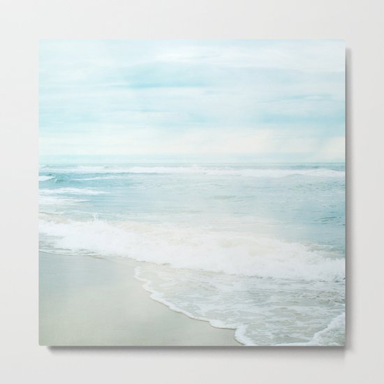 Feel the Sea Metal Print