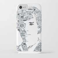 cumberbatch iPhone & iPod Cases featuring Benedict Cumberbatch by Ron Goswami