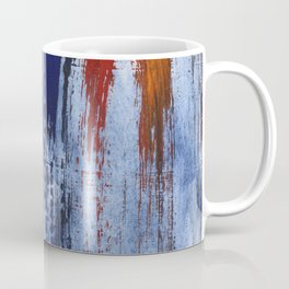 Red blue painting Coffee Mug