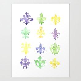 Fleur De Gras Art Print
