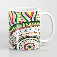 rasta Mugs featuring Rasta by Marcela Caraballo