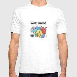 Tamriel Worldwide T-shirt
