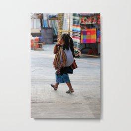 Wandering Child Metal Print