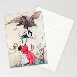 Compassionate Children Illustration Stationery Cards