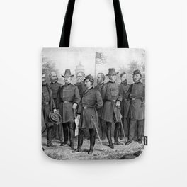 Union Generals of The Civil War Tote Bag