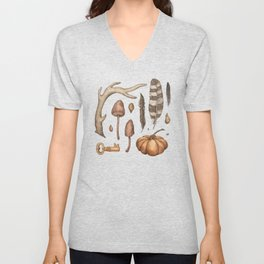 Autumnal Collection Unisex V-Neck