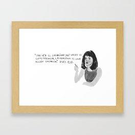 goldfinger Framed Art Print