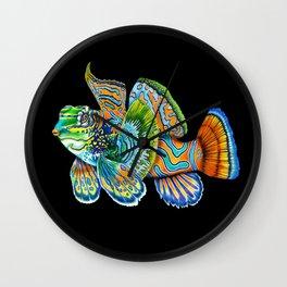 Mandarinfish Wall Clock