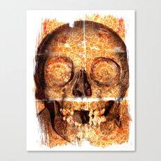 mosaica skully Canvas Print