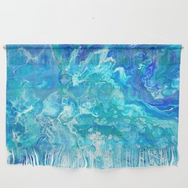 Aqua Ocean Blue Wall Hanging