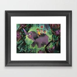 Tralump Framed Art Print