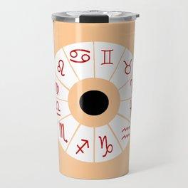 The twelve signs of the zodiac 2 Travel Mug