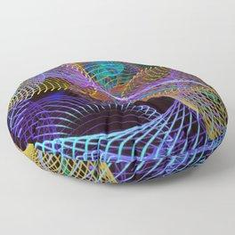 Geo Lines Floor Pillow