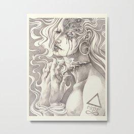 Imprint Metal Print