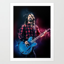 Dave Grohll Art Print