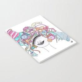 365 cabelos - sewing Notebook