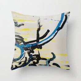 Underbelly Throw Pillow