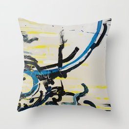 Underbelly Throw Pillow