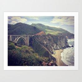 Norcal Bridges Art Print