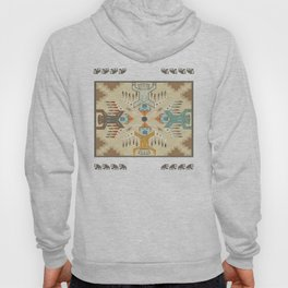 American Native Pattern No. 89 Hoody