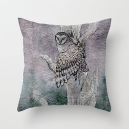 The Night Spirit Throw Pillow