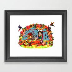 Hideaway Love Framed Art Print