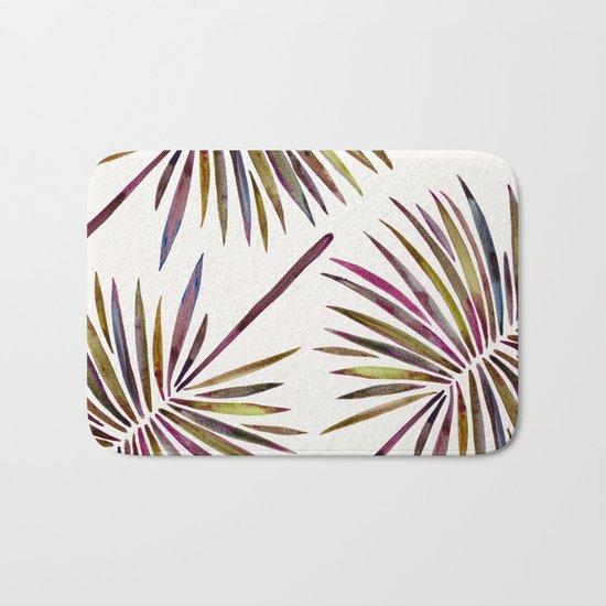 Tropical Fan Palm – Vintage Palette Bath Mat