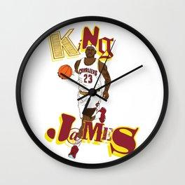 King James Wall Clock