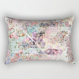 Anaheim map Rectangular Pillow