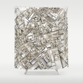 City 11 Shower Curtain