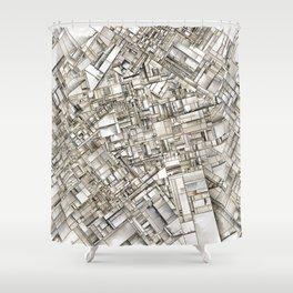 City 11 Shower Curtain