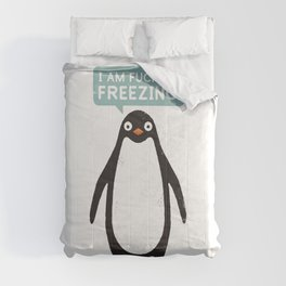 Talking Penguin Comforters