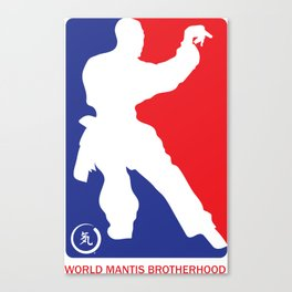 World Mantis Brotherhood Canvas Print