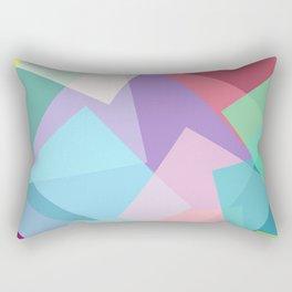 vibrant opacity Rectangular Pillow
