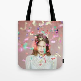 unexpected happiness Tote Bag