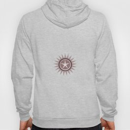 Star flower design Hoody