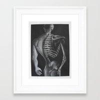 skeletor Framed Art Prints featuring Skeletor  by Robyn Ami Medlock