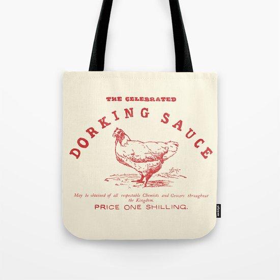 Dorking Sauce Tote Bag