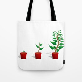 Plant Growth Tote Bag