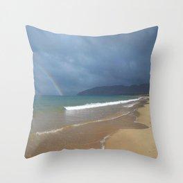 Narin Portnoo Beach Donegal Ireland Throw Pillow