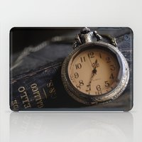 pocket iPad Cases featuring Pocket Watch by Colleen G. Drew